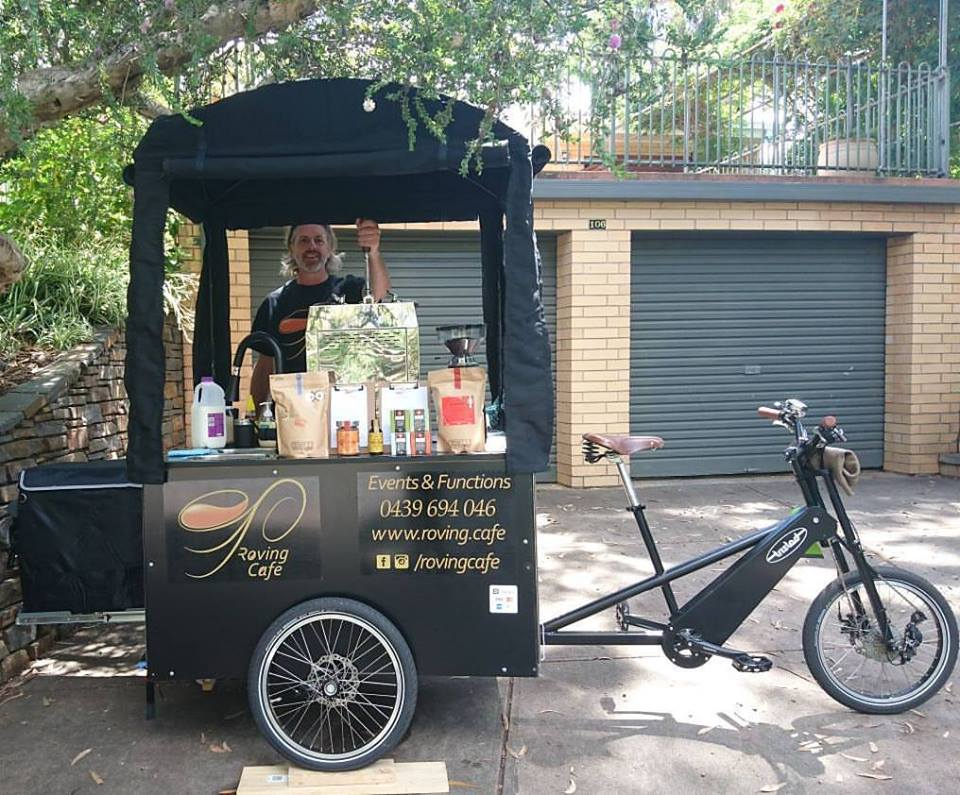 roving cafe at Anstey Hill